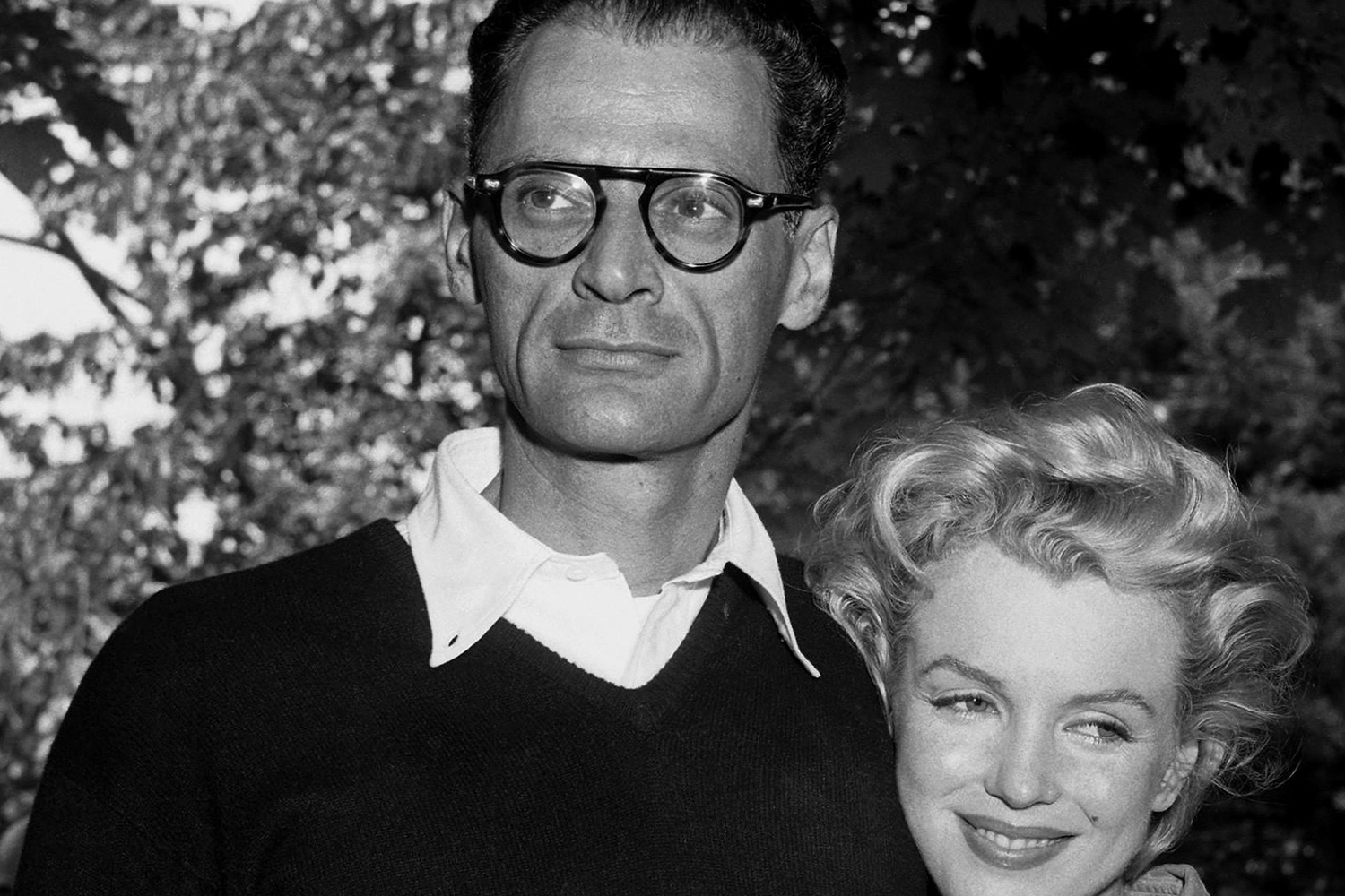 am biography the arthur miller society miller and second wife marilyn monroe