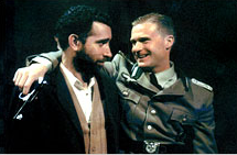 Daniel Ladmirault and Alex cranmer in Vichy Clark street2000