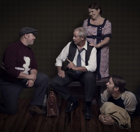 salesmanmorpheusGreg Spielman, Wendy Froberg, Tanner D'Esterre and Bryan Smith